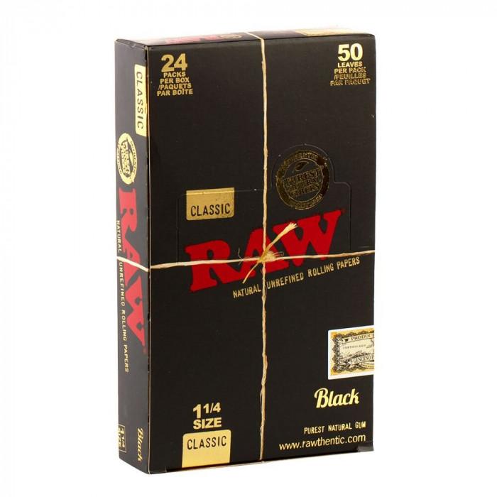 Бумага для самокруток RAW Black - фото 2 - Kalyanchik.ua