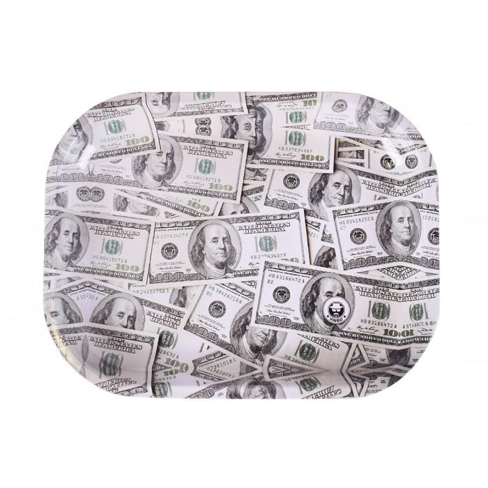 Поднос Dollar 18х14см - фото 1 - Kalyanchik.ua
