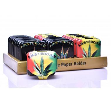 Бокс для хранения бумаги для курения Amsterdam Freedom 5 x 5 см