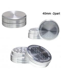 Гриндер Amsterdam - 2part- ?:40mm-Silver
