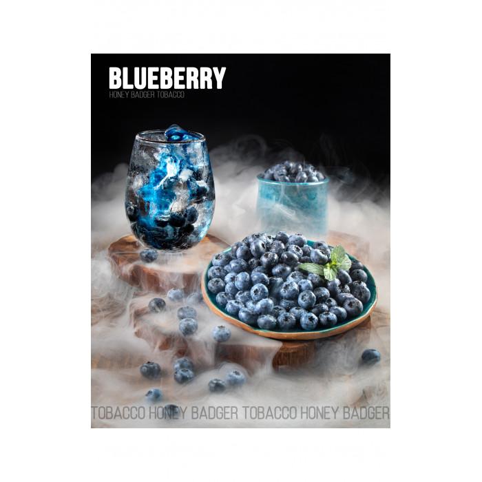 Табак для кальяна Honey Badger Blueberry (Черника), Wild 40гр - фото 1 - Kalyanchik.ua