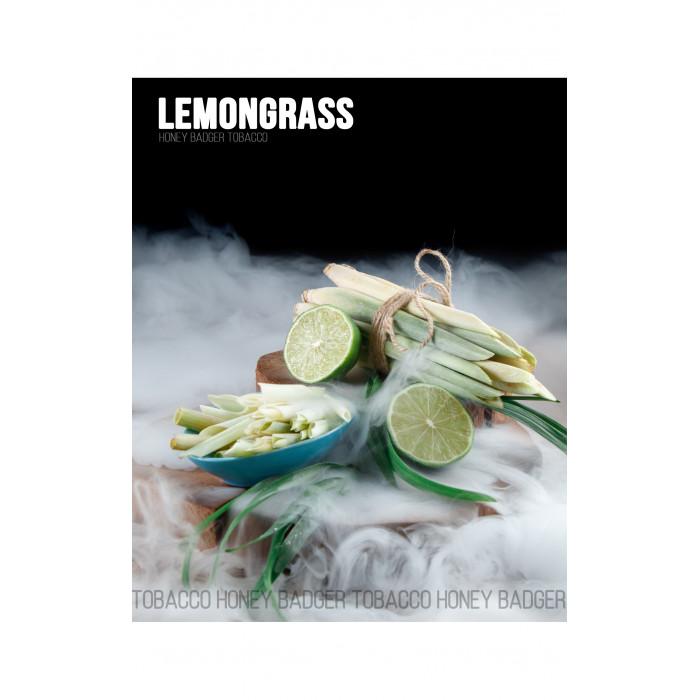 Табак для кальяна Honey Badger Lemongrass (Лемонграсс), Wild 40гр - фото 1 - Kalyanchik.ua