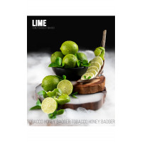Табак для кальяна Honey Badger Lime (Лайм), Mild 40гр