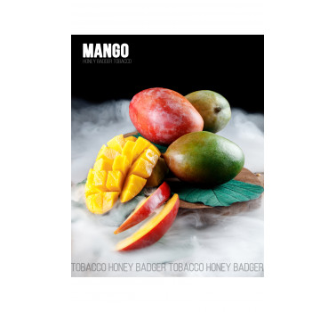 Табак для кальяна Honey Badger Mango (Манго), Mild 40гр