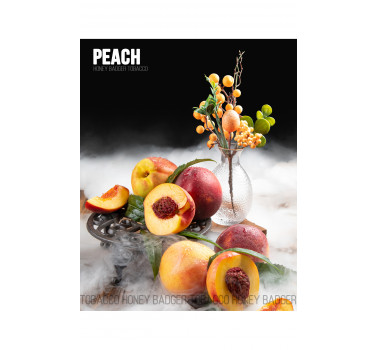 Табак для кальяна Honey Badger Peach (Персик), Wild 40гр