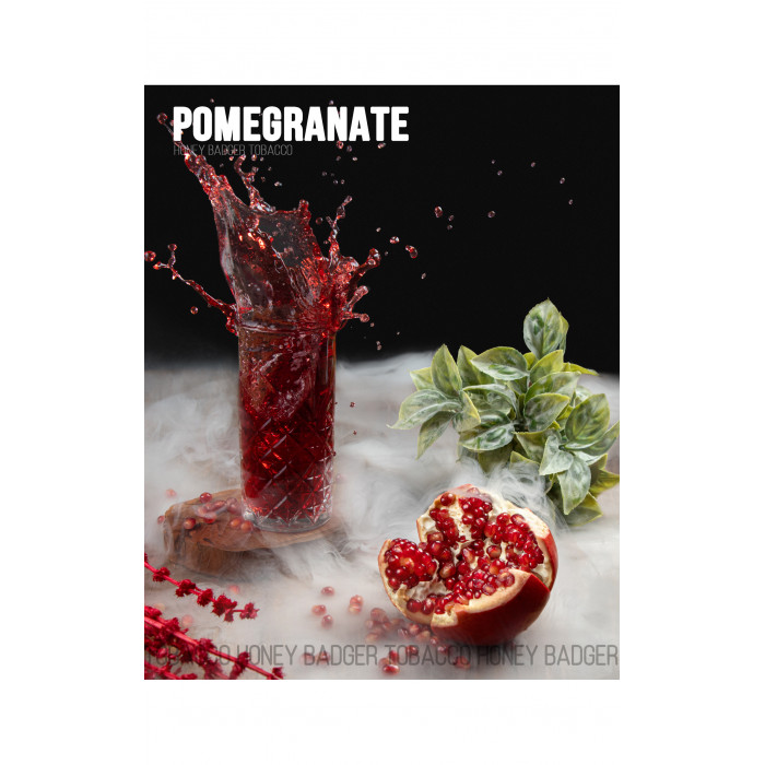 Табак для кальяна Honey Badger Pomegranate (Гранат), Wild 40гр - фото 1 - Kalyanchik.ua