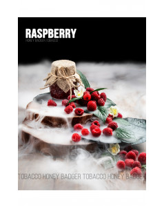 Табак для кальяна Honey Badger Raspberry (Малина), Mild 40гр