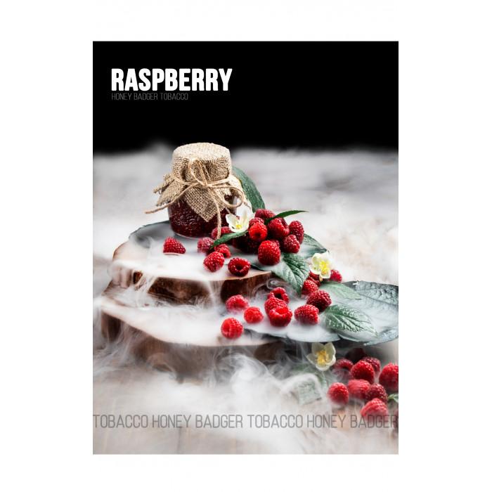 Табак для кальяна Honey Badger Raspberry (Малина), Mild 40гр - фото 1 - Kalyanchik.ua