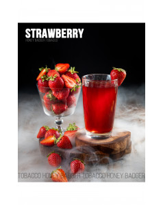 Табак для кальяна Honey Badger Strawberry (Клубника), Mild 40гр