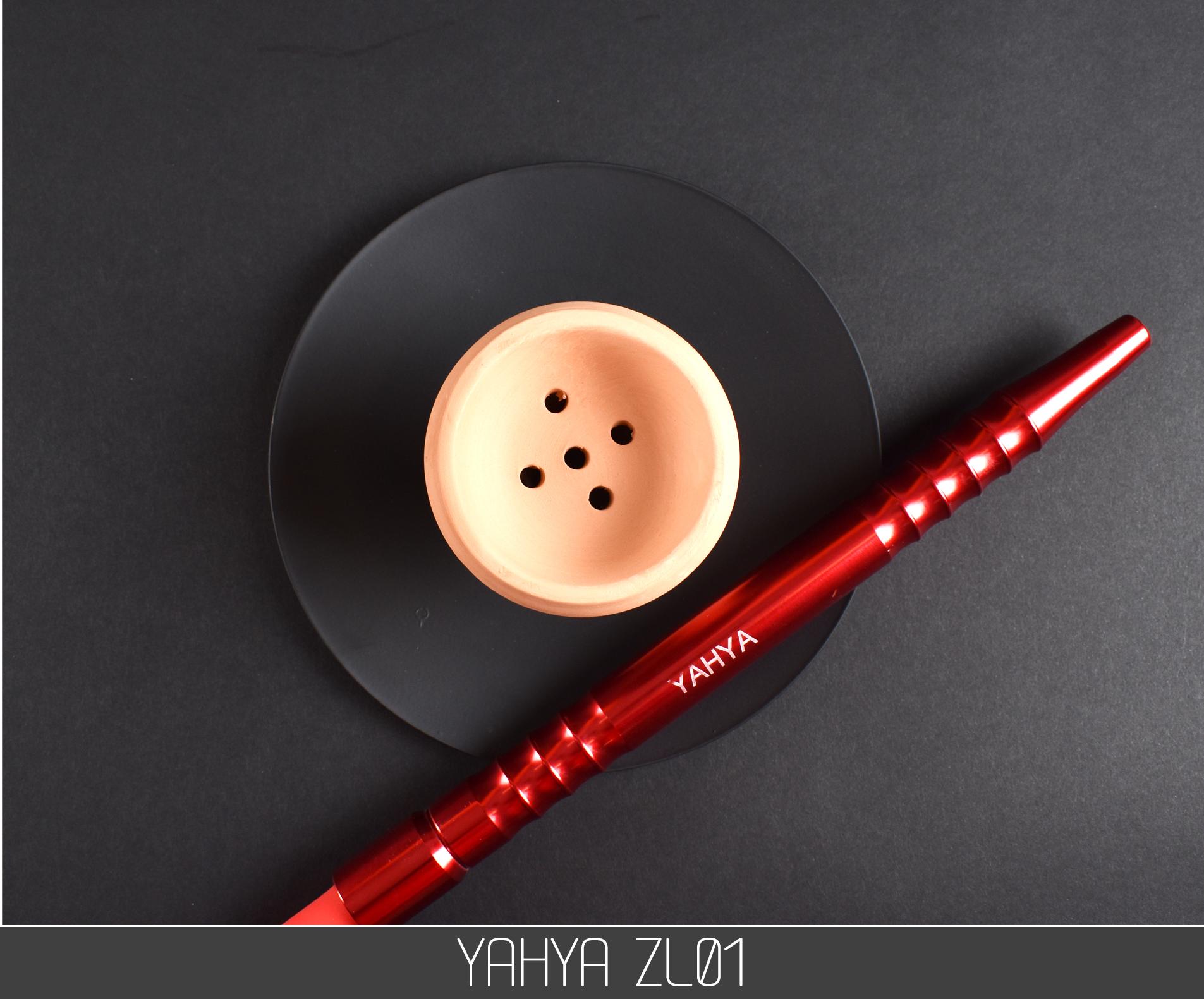 Кальян Yahya ZL01 RED - фото 6 - Kalyanchik.ua