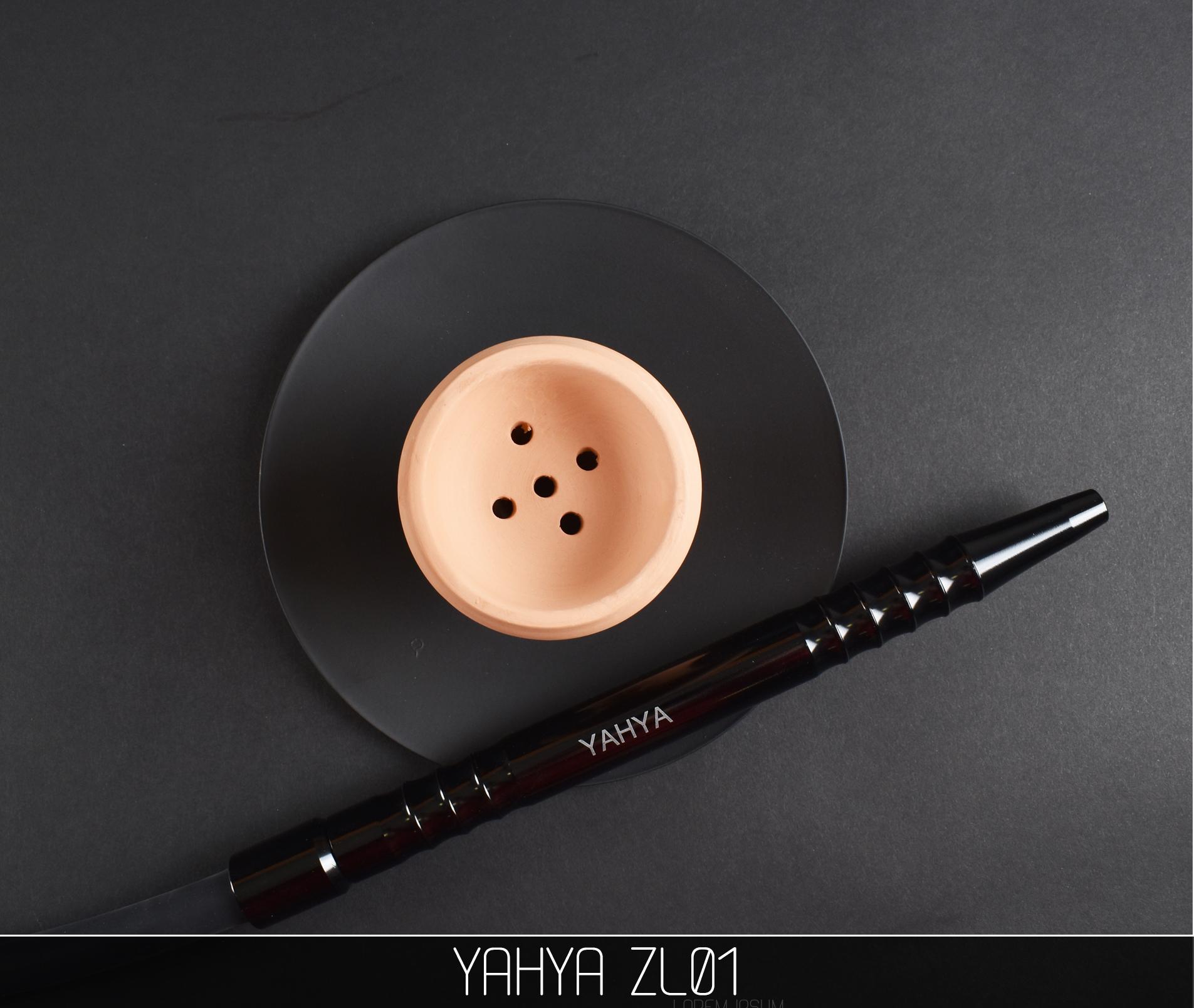 Кальян Yahya ZL01 BLACK - фото 6 - Kalyanchik.ua