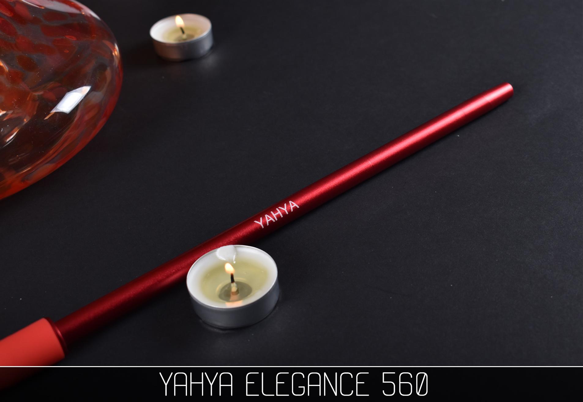 Кальян Yahya Elegance 560 красный - фото 6 - Kalyanchik.ua