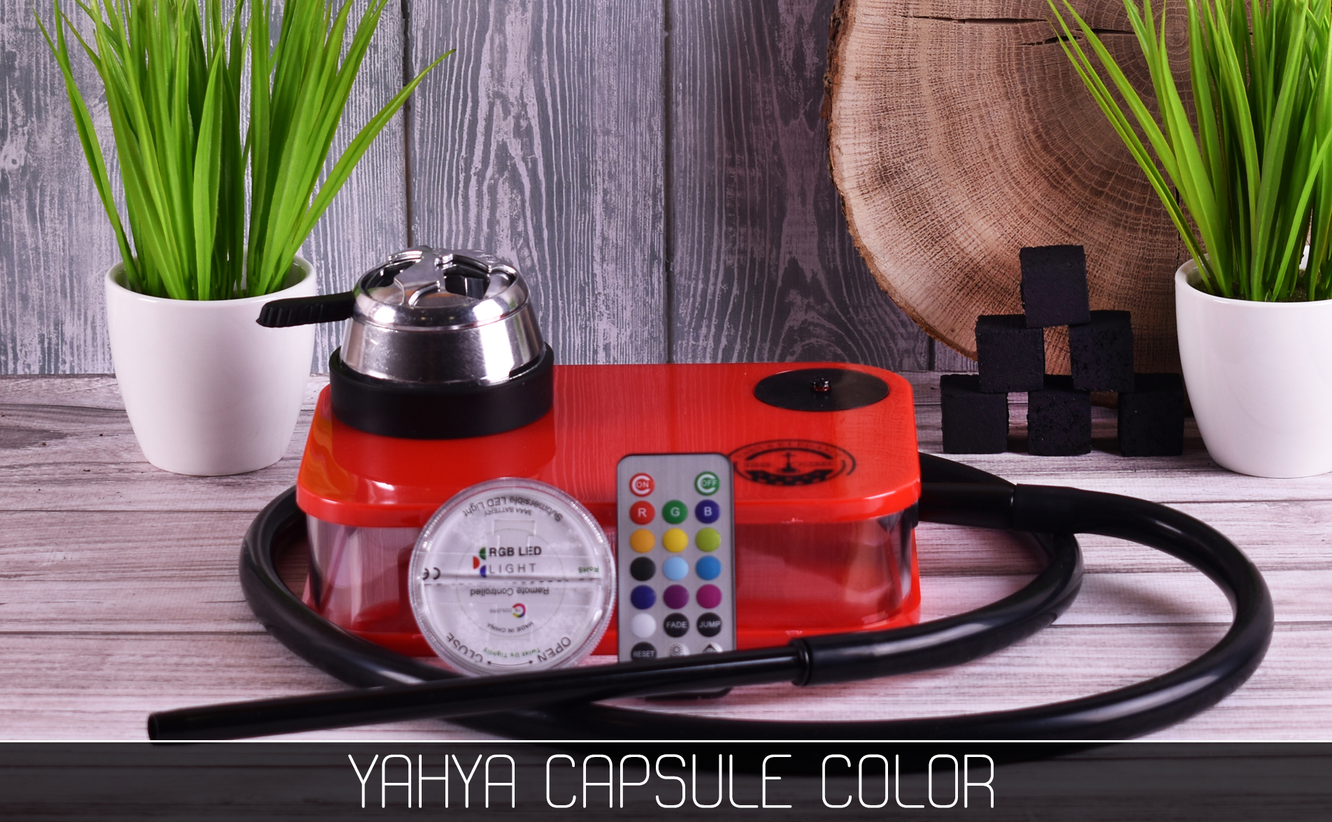 Кальян Yahya Capsule Color - фото 9 - Kalyanchik.ua