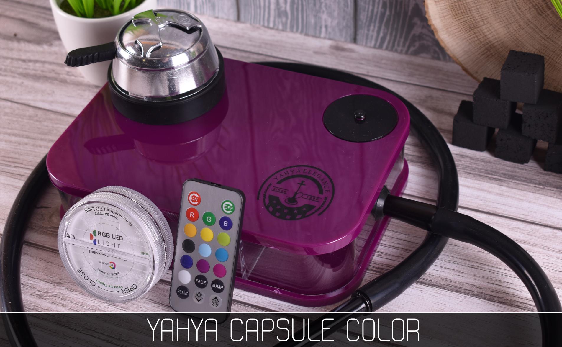 Кальян Yahya Capsule Color - фото 10 - Kalyanchik.ua