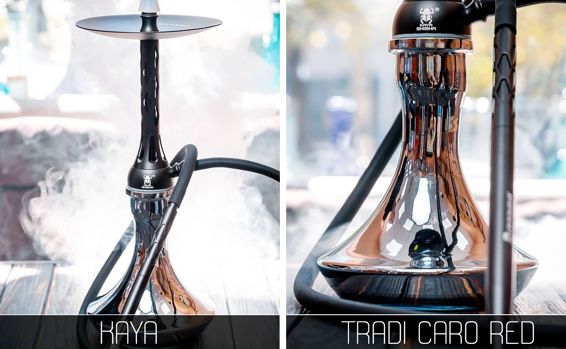 Кальян Kaya Tradi Caro Black - фото 8 - Kalyanchik.ua