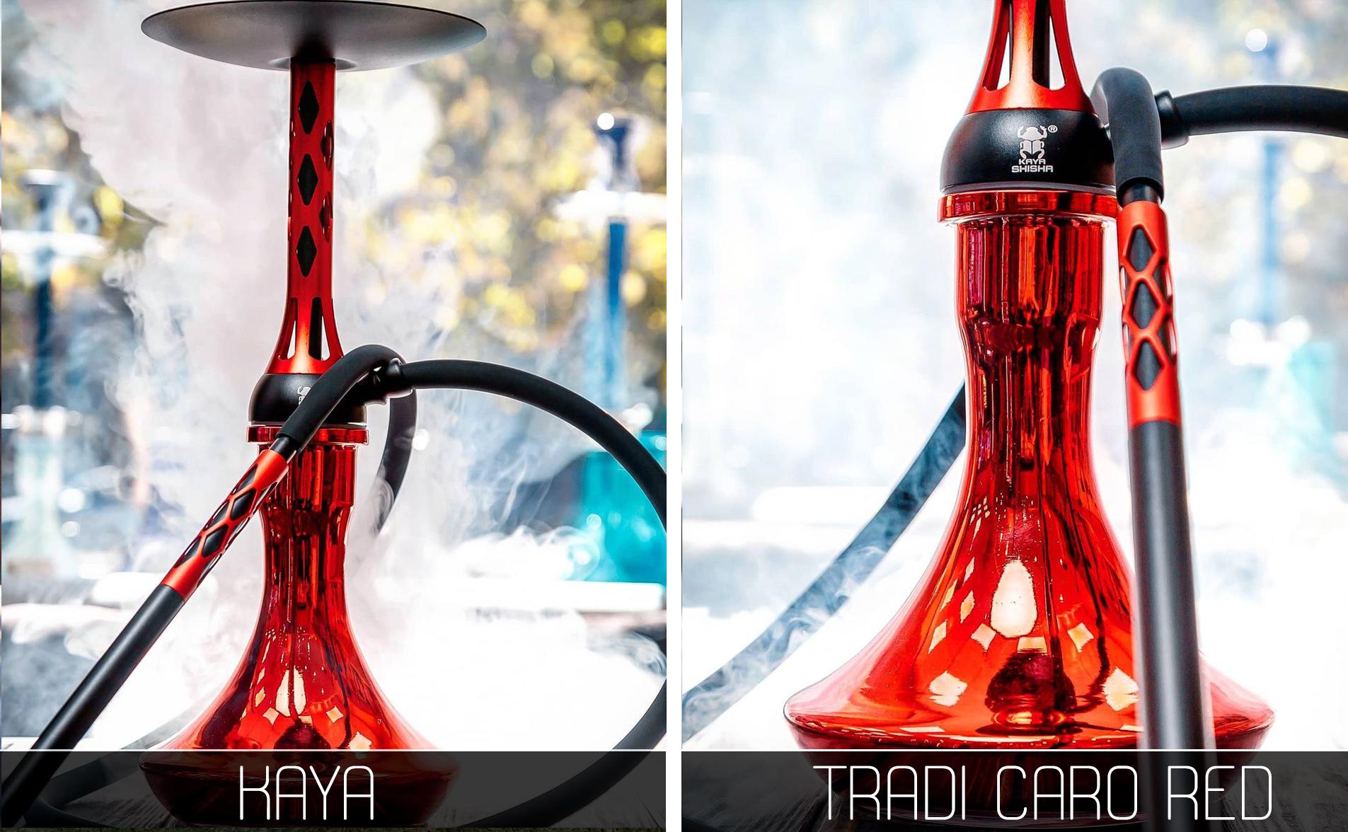 Кальян Kaya Tradi Caro Red - фото 4 - Kalyanchik.ua