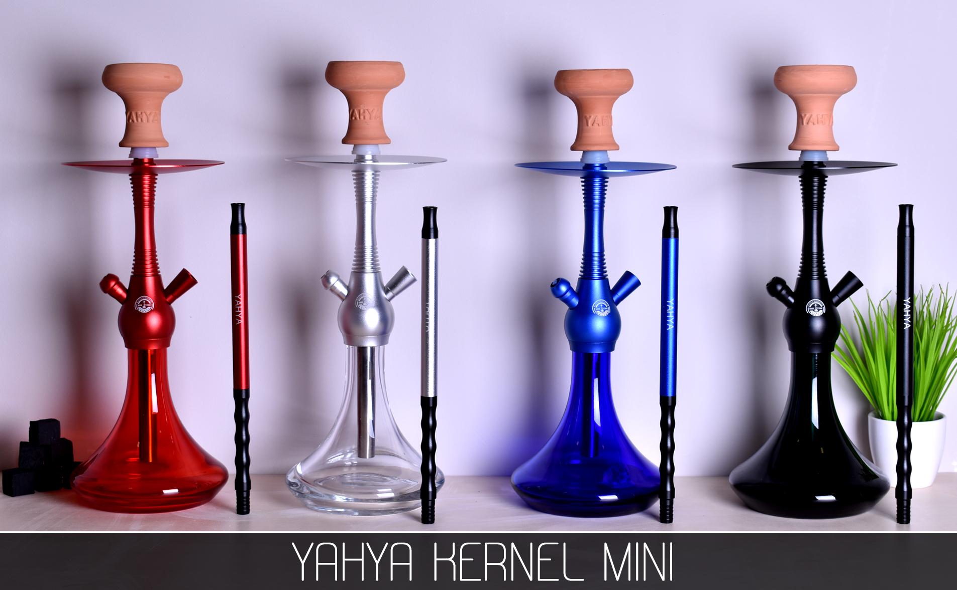 Кальян Yahya Kernel Mini RED - фото 4 - Kalyanchik.ua