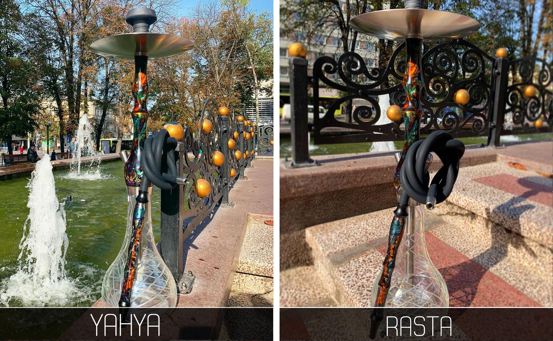 Кальян Yahya Rasta - фото 10 - Kalyanchik.ua